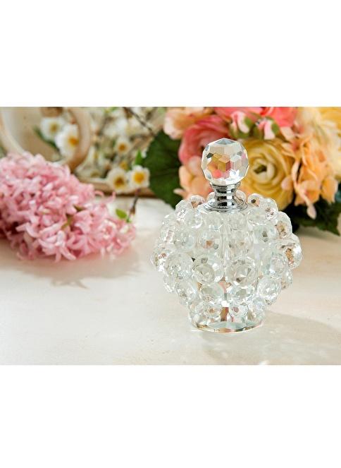 Gül Güler Kristal Parfüm Şişesi U7-5153 Renksiz